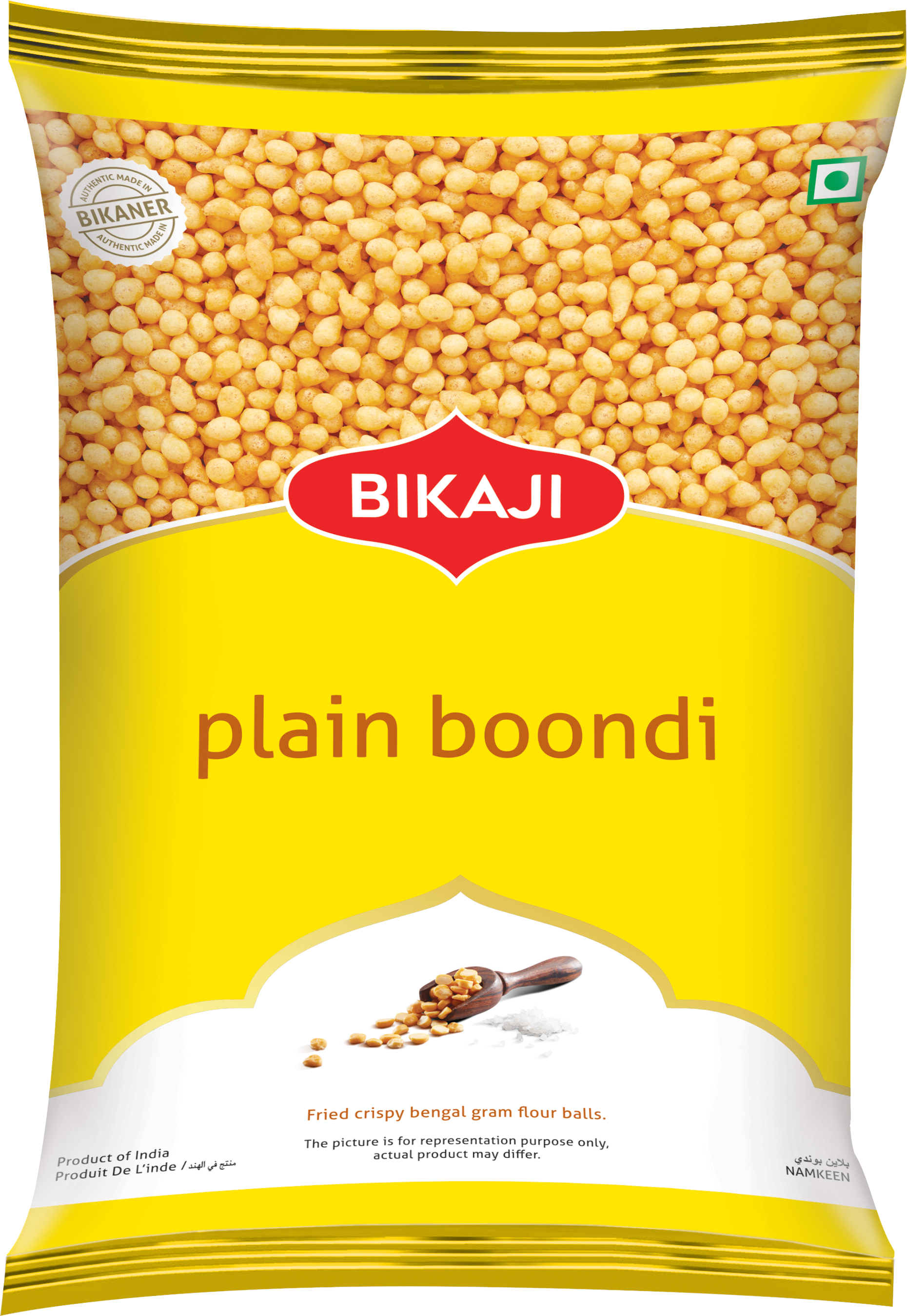 Plain boondi